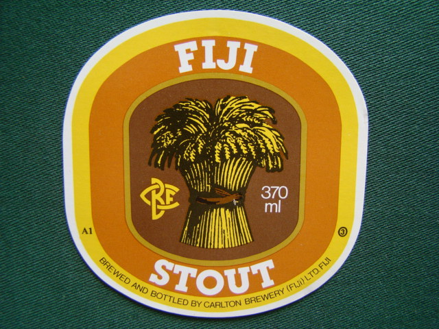 Fiji Stout - Brewed And Bottled By Carlton Brewery (FIJI)LTD FIJI,Fidži,Oceánie