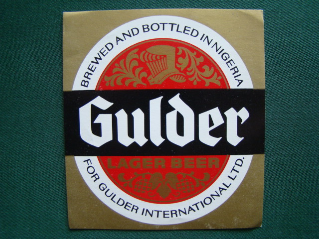 Gulder Lager Beer - Brewed And Bottled In Nigeria For Gulder International LTD.,Nigérie ,Západní Afrika
