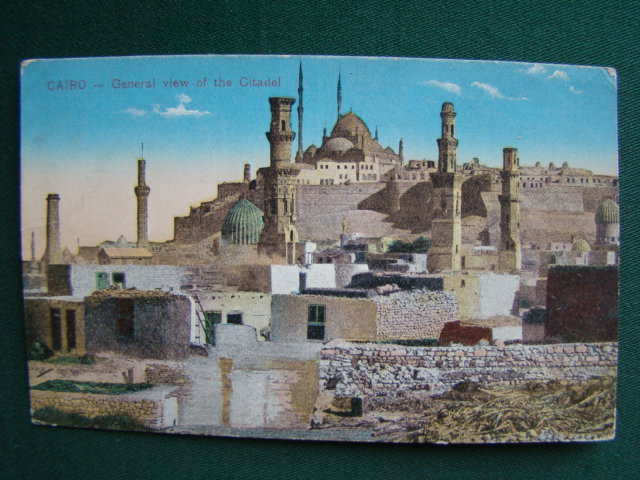 Cairo - General View Of Tha Citadel - Egypt